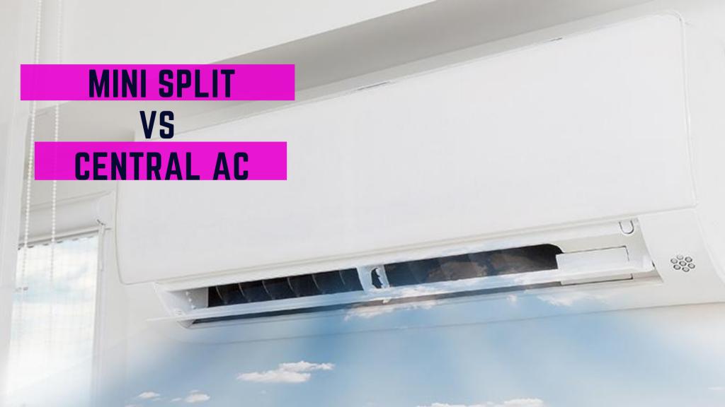 Mini Split Vs Central Air Conditioning Systems Comparison Banner